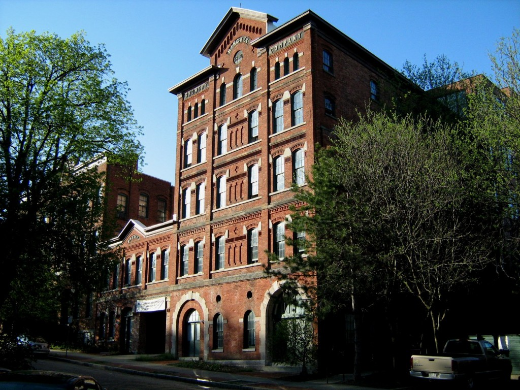 The former Hinckel Brewery still stands today as an apartment complex. Photo by Paula Lemire.