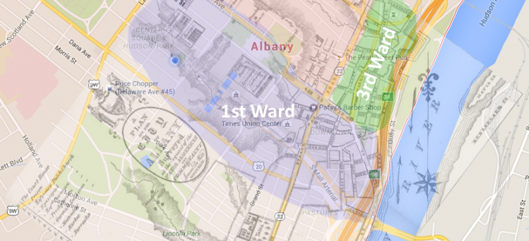 1800 Census of Albany Visualization
